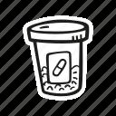 bottle, drugs, health, medical, pills, prescription icon