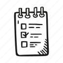 checklist, clipboard, do, list, to icon