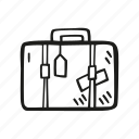 holiday, suitcase, tourism, travel, vacation icon
