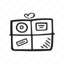 delivery, ecommerce, package, shipping, shopping icon