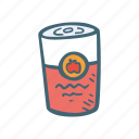 canned, food, kitchen, meal, soup icon