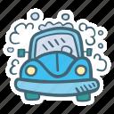 auto, car, carwash, clean, vehicle, wash, washing icon