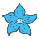 floral, flower, nature icon