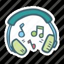 audio, listening, music, play, sound icon