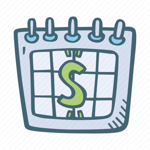 calendar, date, day, event, pay, schedule icon