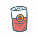 canned, cooking, food, meal, soup icon