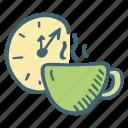 break, coffee, drink, tea, time icon