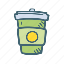 beverage, coffe, drink, to go icon