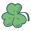 clover, flower, leaf, nature icon