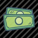 bills, day, dollar, finance, money, pay icon