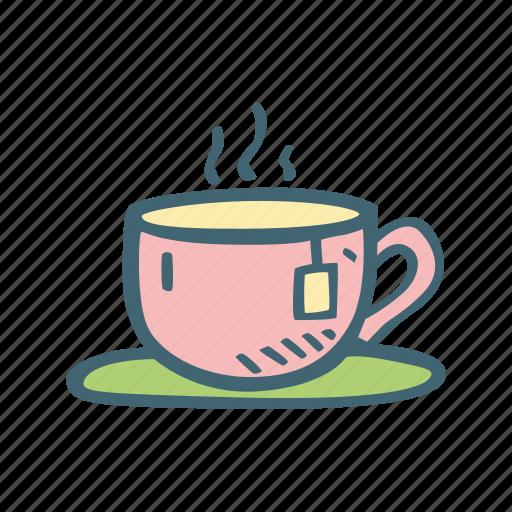 coffee, drink, tea icon