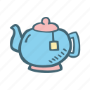coffee, drink, hot, pot, tea icon