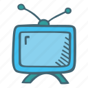 movies, set, television, tv icon