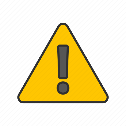 attention, beware, caution, warning icon