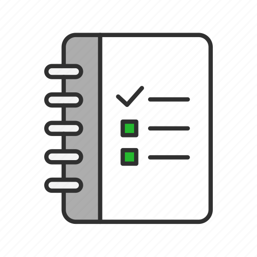 checklist, list, menu, notes icon