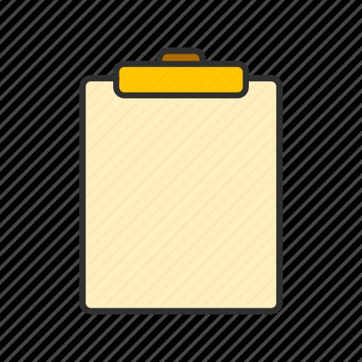 board, checklist, notes, table icon