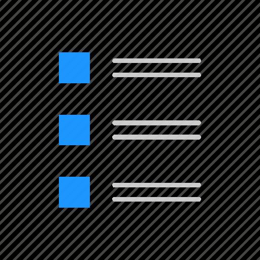 checklist, clipboard, journal, list icon