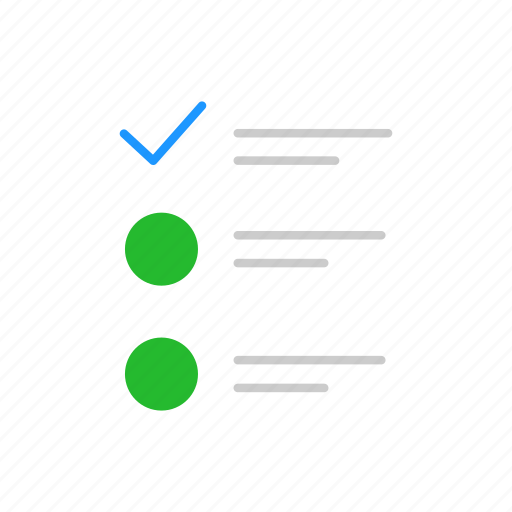 checklist, document, list, menu icon