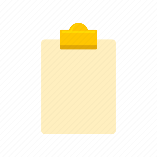 board, clipboard, notes, papers icon