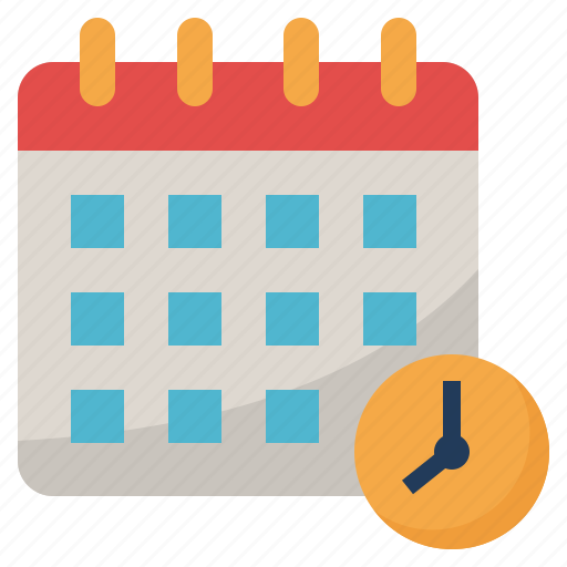 Booking, calendar, date, event, time icon - Download on Iconfinder