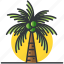 palm, plants, tree, trees, tropical icon