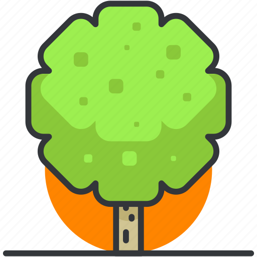 ecology, forest, nature, park, spring, tree icon