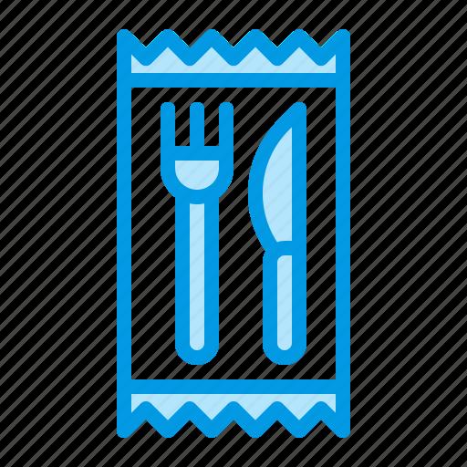 cutlery, disposable, plastic, tableware icon
