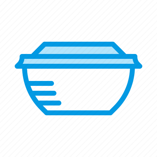 bowl, container, food, soup icon