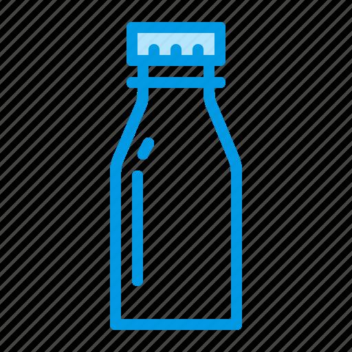 bottle, milk, plastic icon