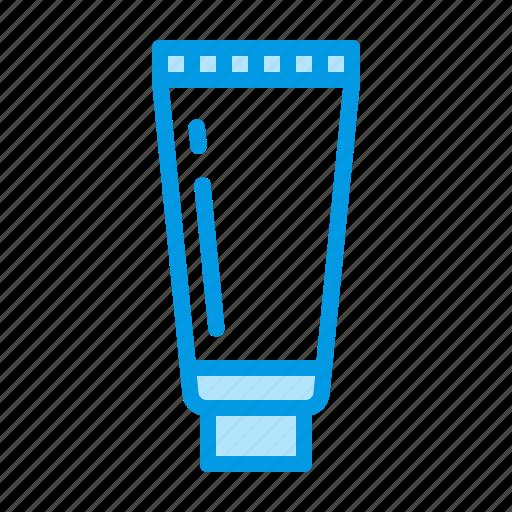 cream, plastic, tube icon