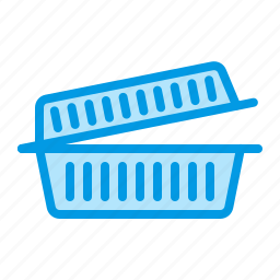 container, disposable, food, plastic icon
