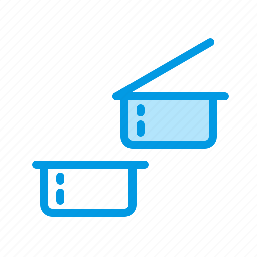container, disposable, plastic, sauce icon