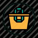 bag, handles, plastic, recycle, reusable
