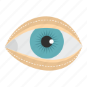 blepharoplasty, cosmetic, eye, eyelid, medical, plastic, surgery icon