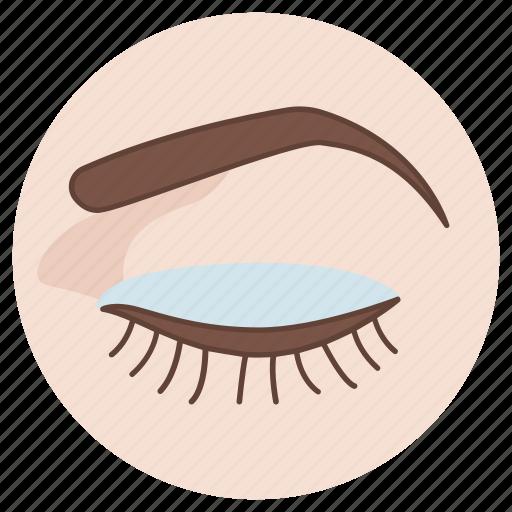 beauty, cosmetic, double, eye, eyelid, plastic, surgery icon