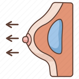 beauty, breast, cosmetic, enlargement, implant, plastic, surgery icon