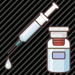 anaesthetic, collagen, drug, injection, intravenous, medicine, syringe icon