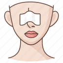 cosmetic, job, nose, plastic, reconstruction, surgery icon