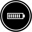battery, charging, level, mobile, phone icon