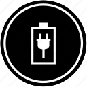 battery, charging, electric, mobile, phone icon