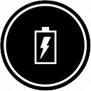 charging, electric, mobile, shock, vertical icon