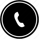 call, dial, online, operation, phone icon