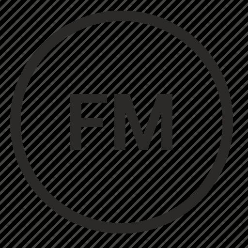 fm, function, mode, player, radio, ui icon
