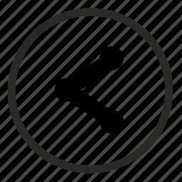 href, link, player, round, ui, url icon