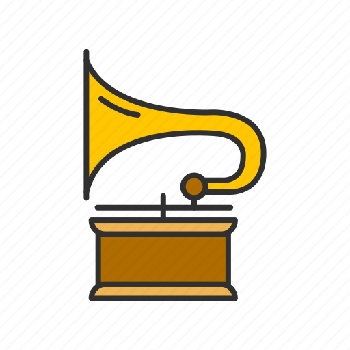 audio, music, phonograph, record icon
