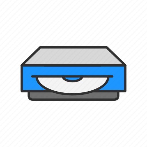 disc, dvd player, player, video icon