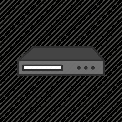audio, dvd, dvd player, video icon