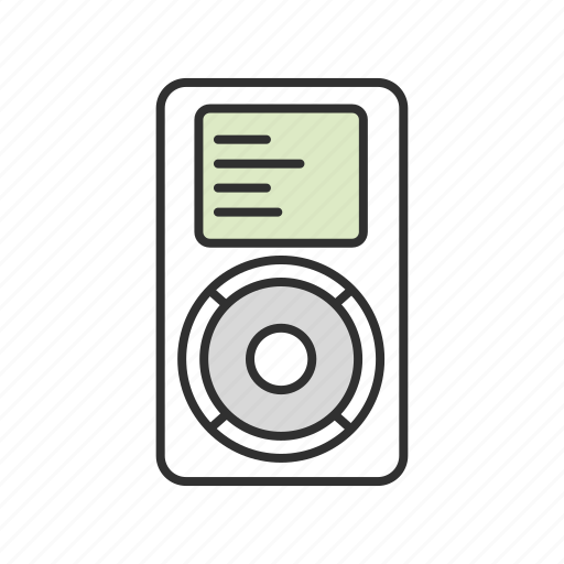 audio, ipod, mp3 player, music icon