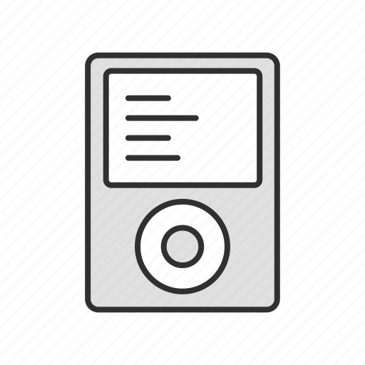 audio, ipod, mp3 player, music icon