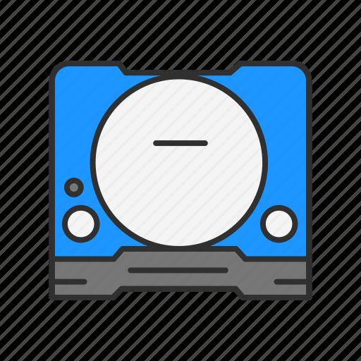 disc, dvd, dvd player, video icon